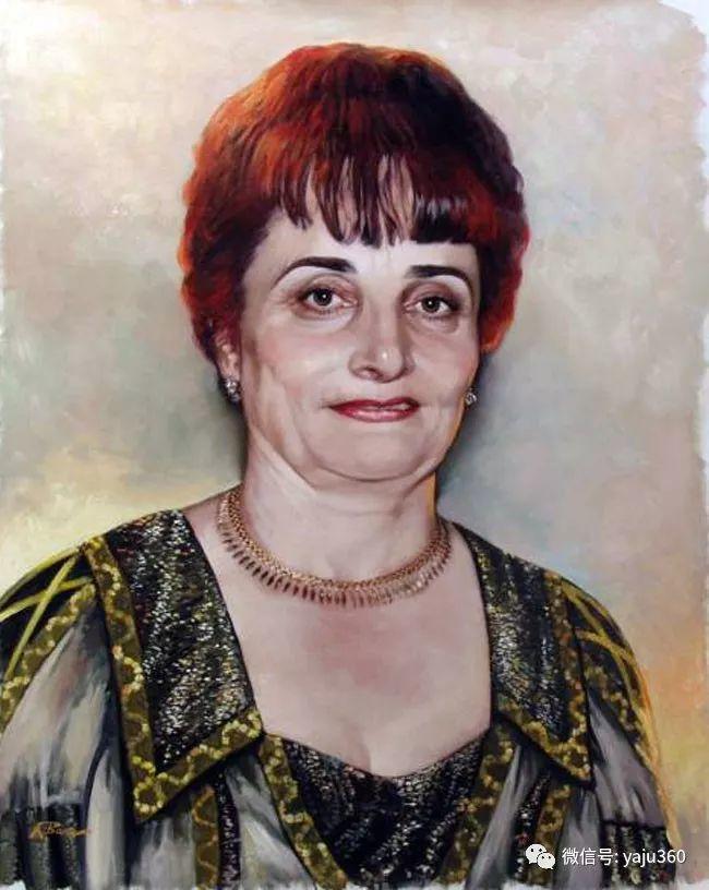 乌兹别克斯坦Ruben Bore油画欣赏插图35