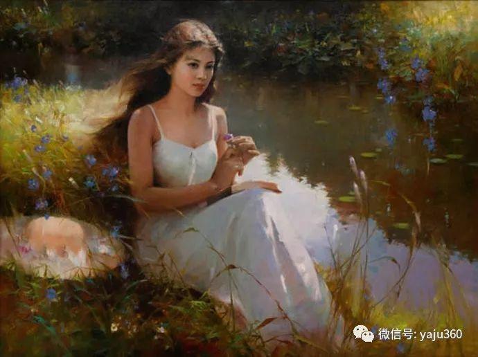 优雅与高贵 旅美画家何岸油画欣赏插图13