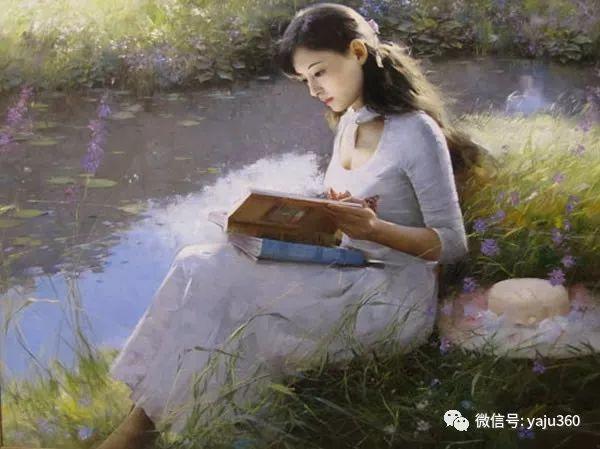 优雅与高贵 旅美画家何岸油画欣赏插图35