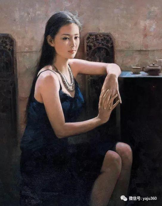 优雅与高贵 旅美画家何岸油画欣赏插图43