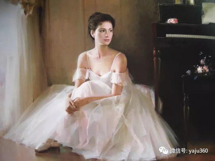 优雅与高贵 旅美画家何岸油画欣赏插图57