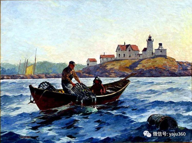 美国Jeff Weaver船舶油画作品插图19