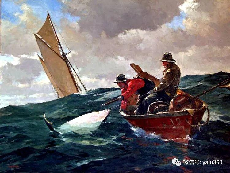 美国Jeff Weaver船舶油画作品插图23