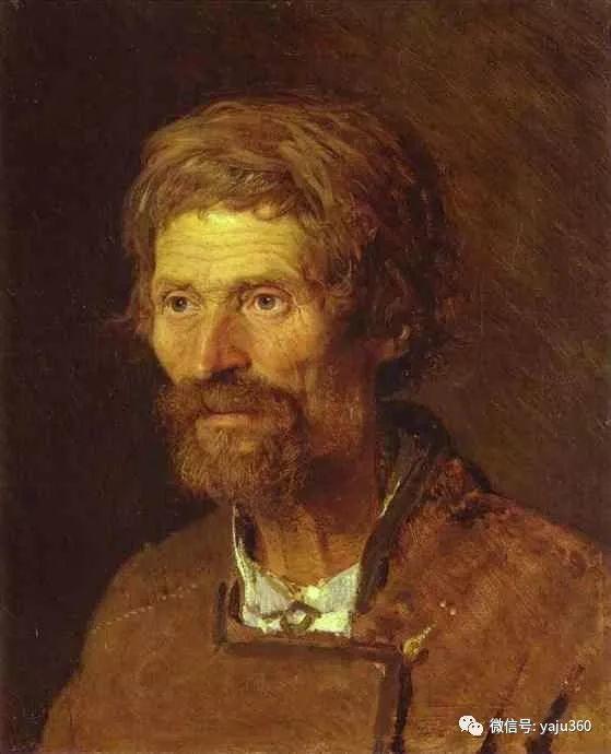 油画世界 俄Ivan Kramskoy人物作品插图11