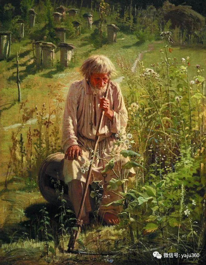 油画世界 俄Ivan Kramskoy人物作品插图15