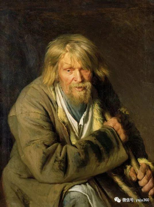 油画世界 俄Ivan Kramskoy人物作品插图19
