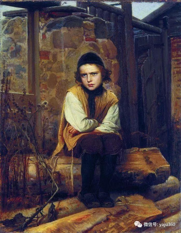 油画世界 俄Ivan Kramskoy人物作品插图27