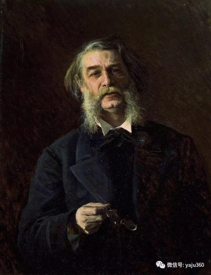 油画世界 俄Ivan Kramskoy人物作品插图41