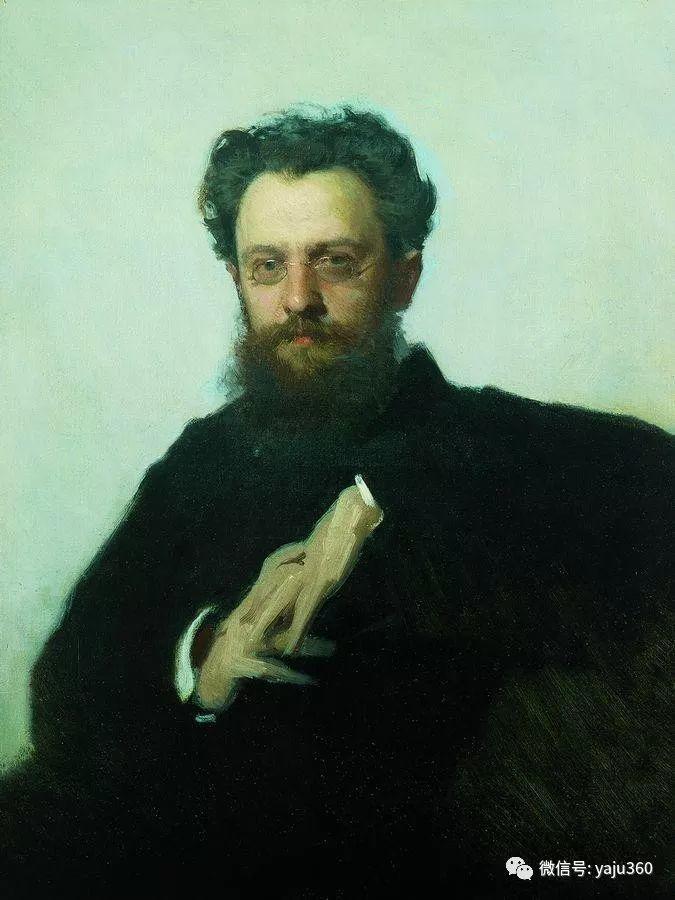 油画世界 俄Ivan Kramskoy人物作品插图45