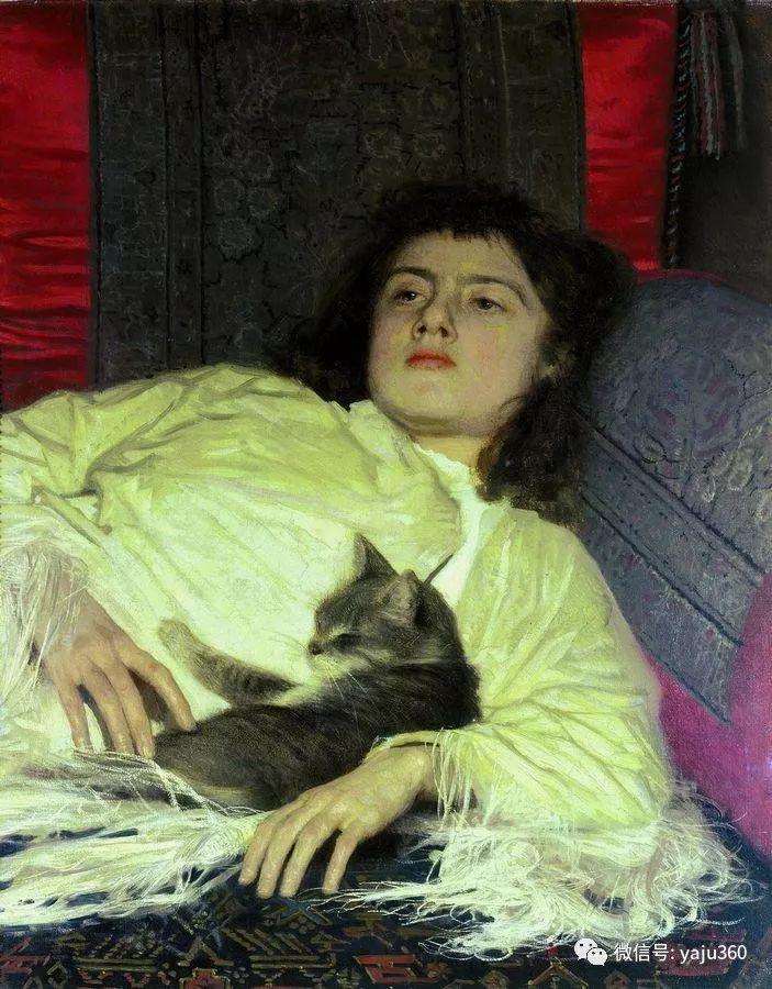 油画世界 俄Ivan Kramskoy人物作品插图63