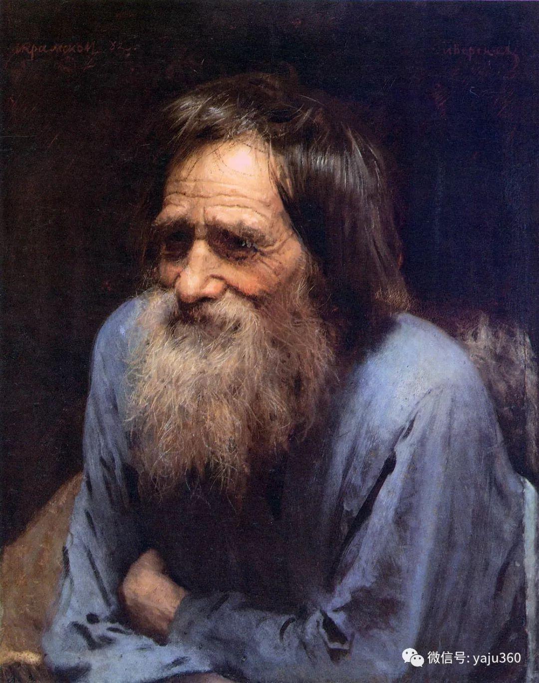 油画世界 俄Ivan Kramskoy人物作品插图65