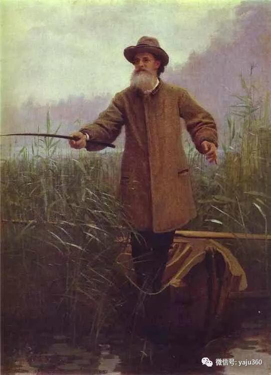 油画世界 俄Ivan Kramskoy人物作品插图75