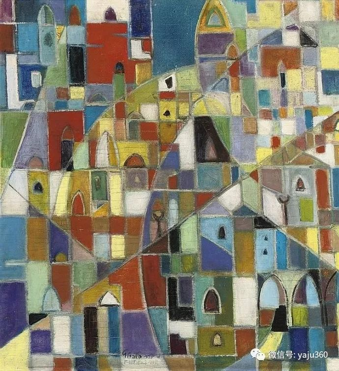 以色列画家Menachem Helholz-or插图7