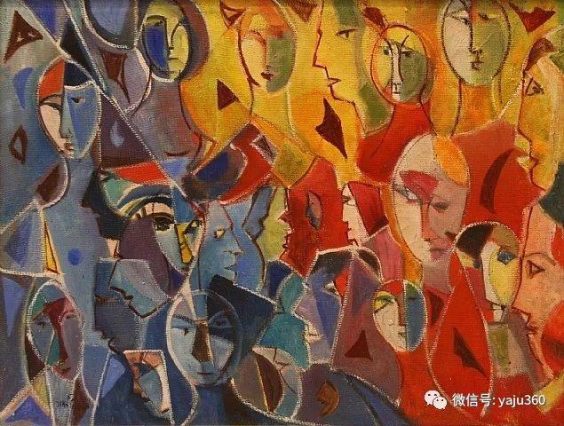 以色列画家Menachem Helholz-or插图9