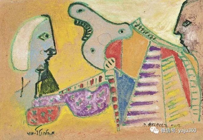 以色列画家Menachem Helholz-or插图41