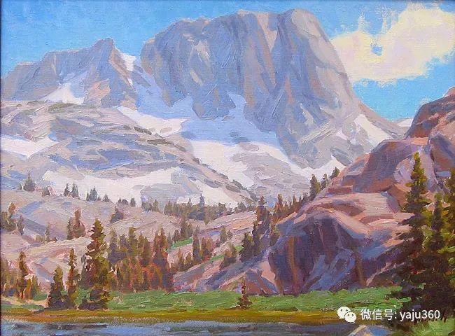 美国Charles Muench油画欣赏插图3