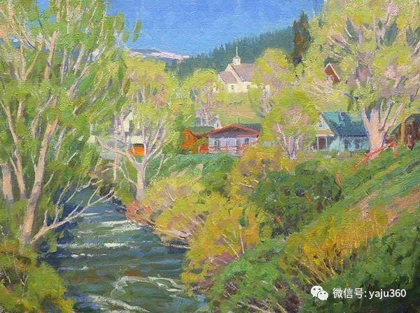美国Charles Muench油画欣赏插图9