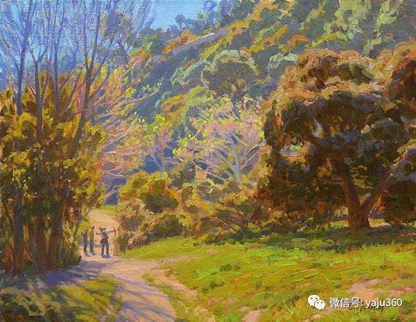 美国Charles Muench油画欣赏插图11
