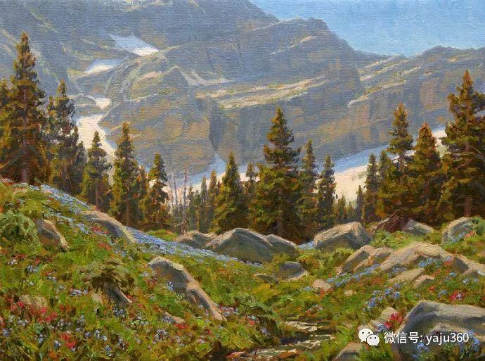 美国Charles Muench油画欣赏插图13