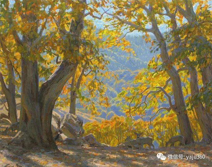 美国Charles Muench油画欣赏插图25