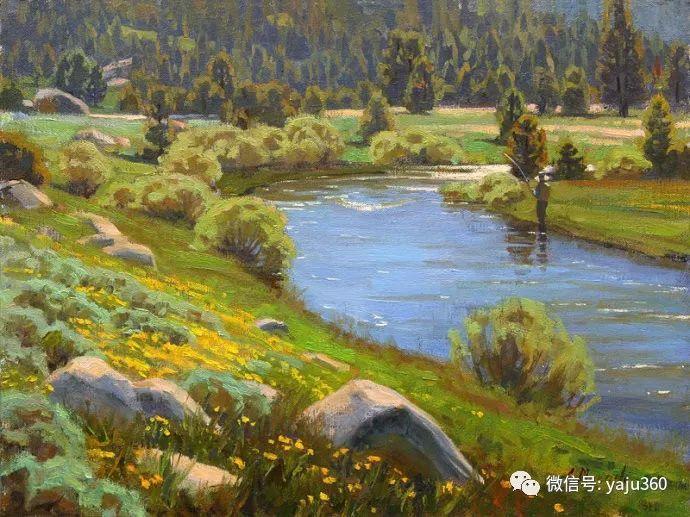 美国Charles Muench油画欣赏插图27