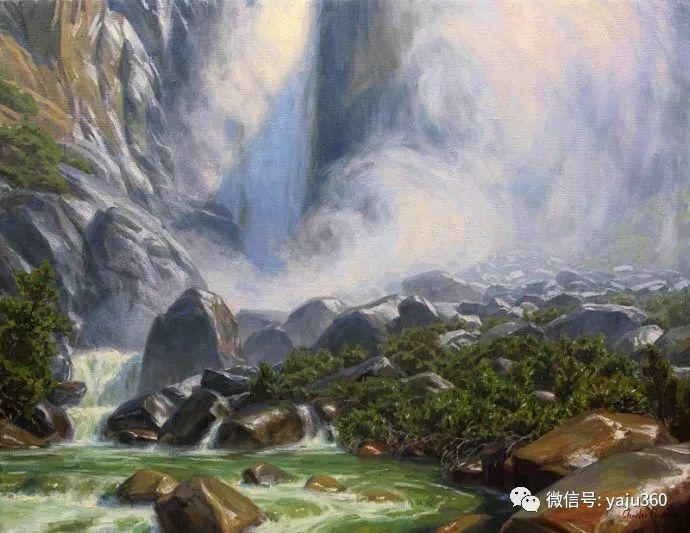 美国Charles Muench油画欣赏插图29
