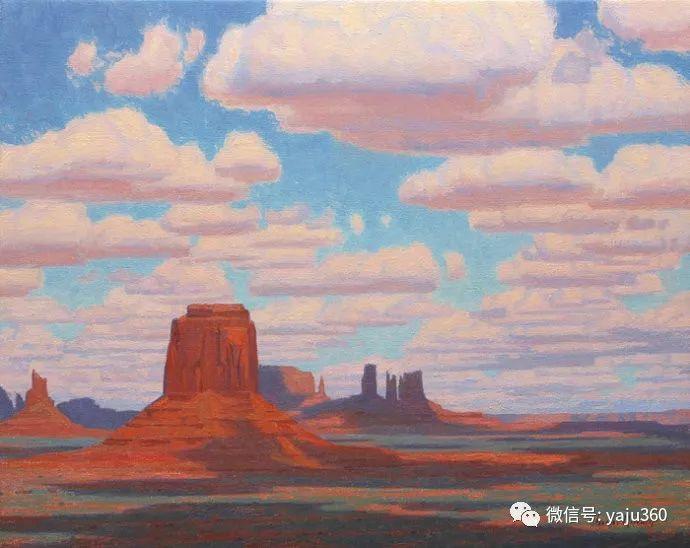 美国Charles Muench油画欣赏插图35