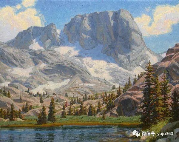 美国Charles Muench油画欣赏插图41
