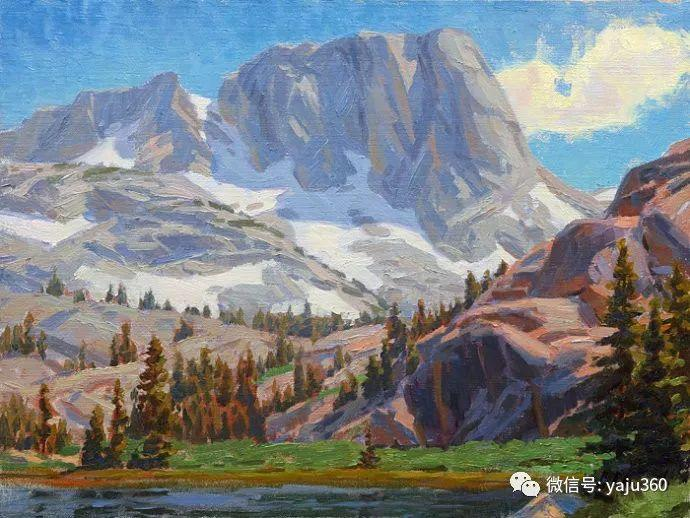 美国Charles Muench油画欣赏插图43