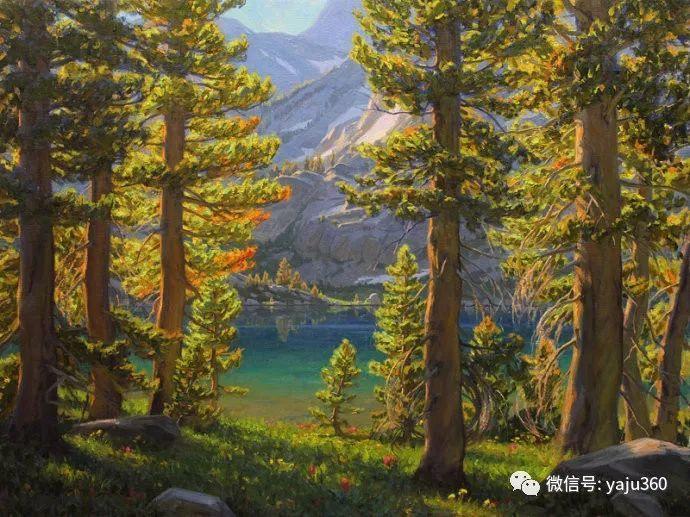 美国Charles Muench油画欣赏插图51