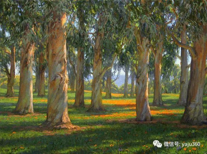 美国Charles Muench油画欣赏插图53
