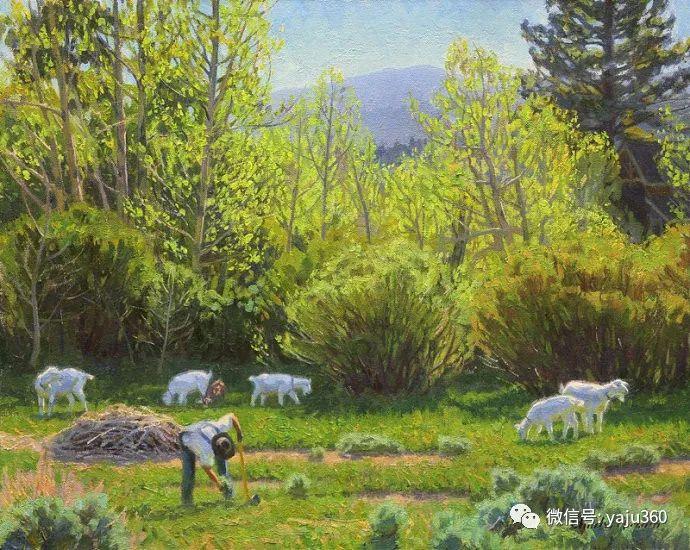 美国Charles Muench油画欣赏插图59