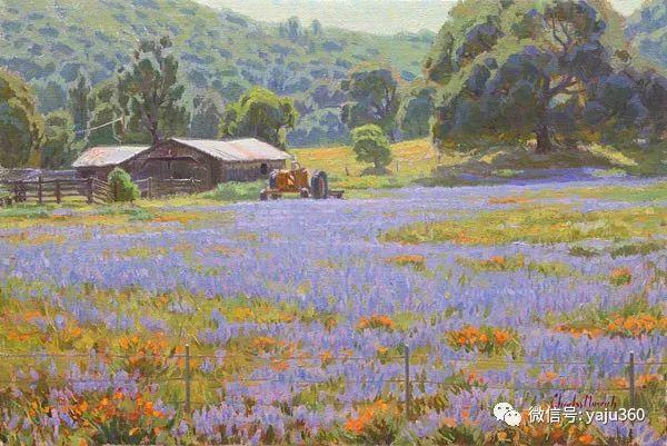美国Charles Muench油画欣赏插图81