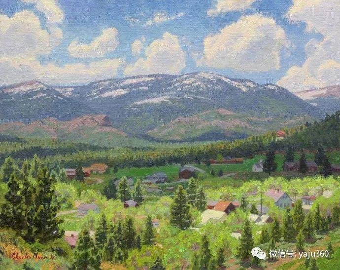 美国Charles Muench油画欣赏插图83