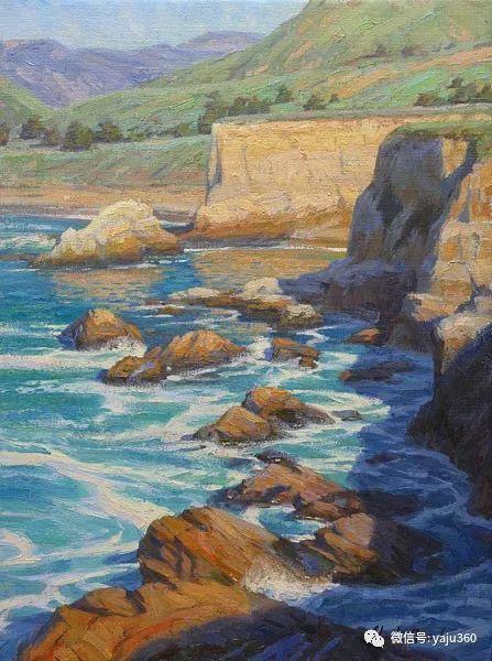 美国Charles Muench油画欣赏插图85