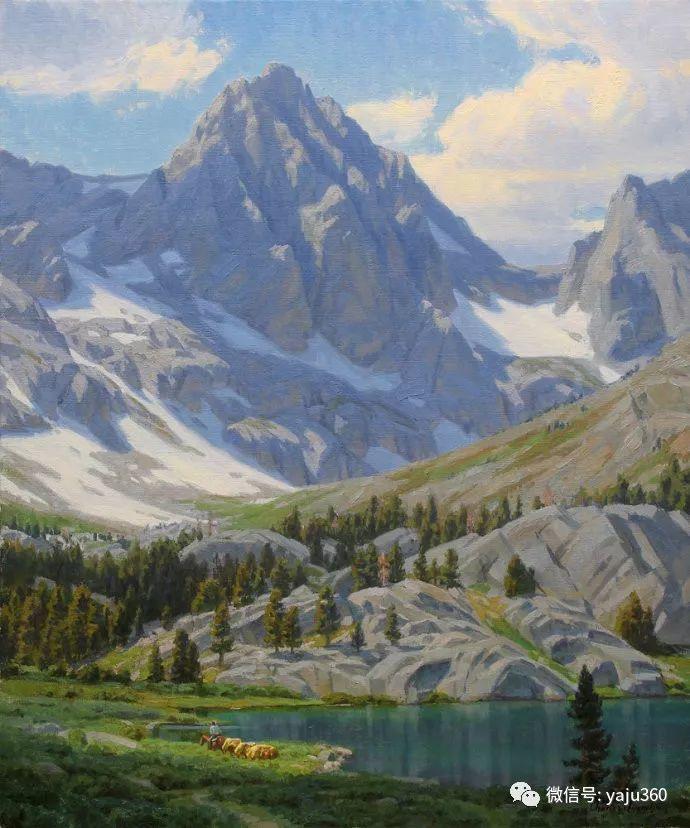 美国Charles Muench油画欣赏插图89