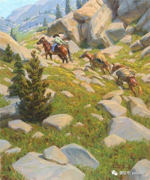 美国Charles Muench油画欣赏插图105