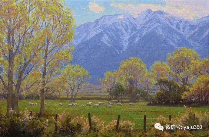 美国Charles Muench油画欣赏插图107