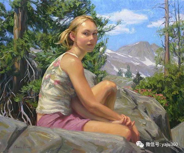 美国Charles Muench油画欣赏插图109