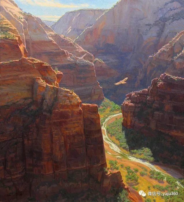 美国Charles Muench油画欣赏插图113