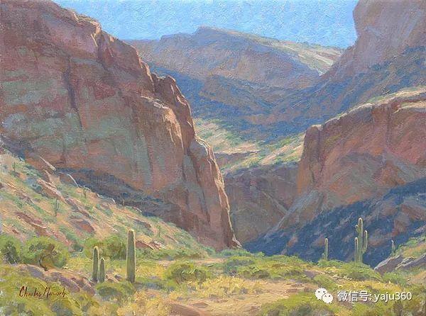 美国Charles Muench油画欣赏插图123