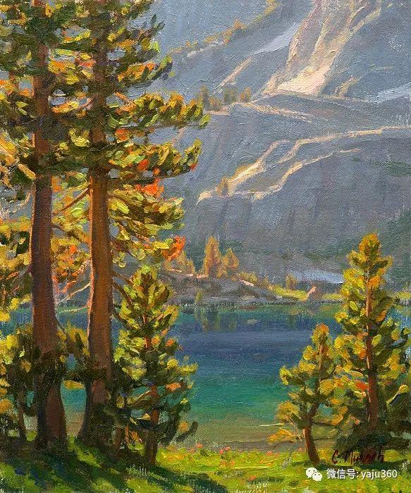 美国Charles Muench油画欣赏插图129