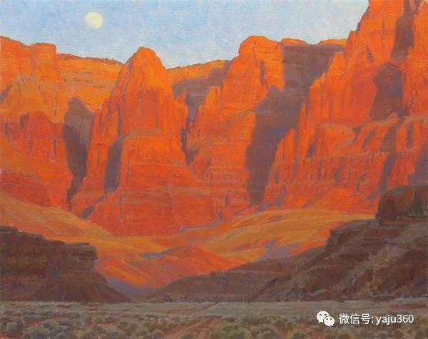 美国Charles Muench油画欣赏插图133