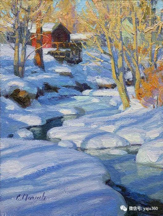 美国Charles Muench油画欣赏插图135