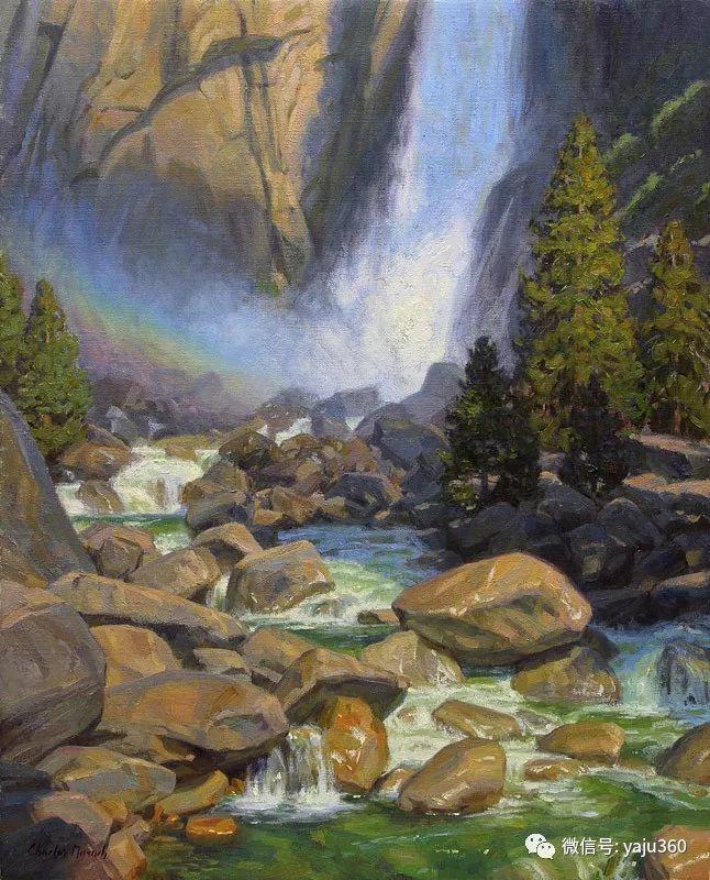 美国Charles Muench油画欣赏插图139
