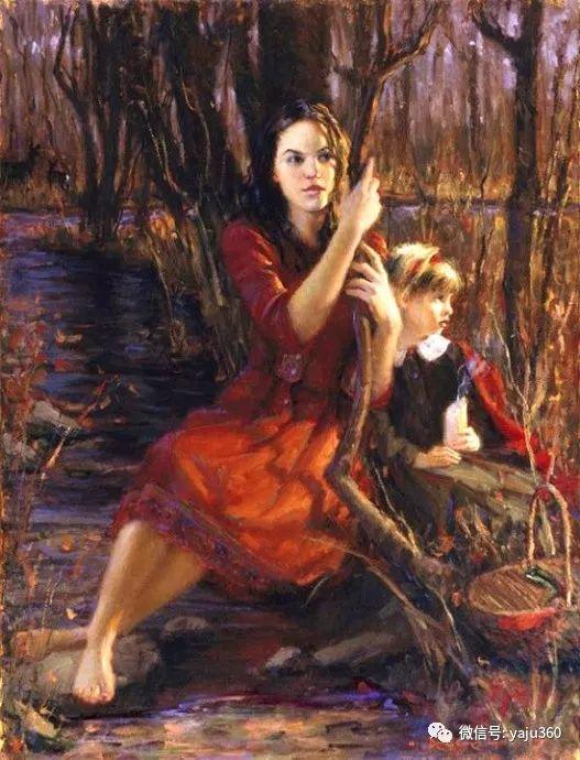 美国布莱斯·卡梅伦·利斯顿油画作品插图11