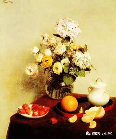 世界名画花卉欣赏插图17