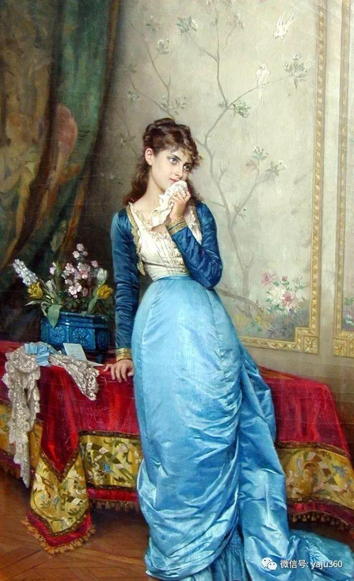 人物油画 法国Auguste Toulmouche插图3