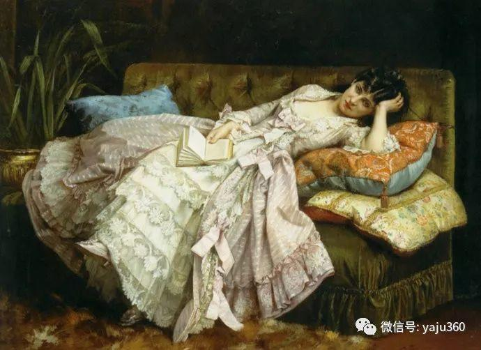 人物油画 法国Auguste Toulmouche插图5
