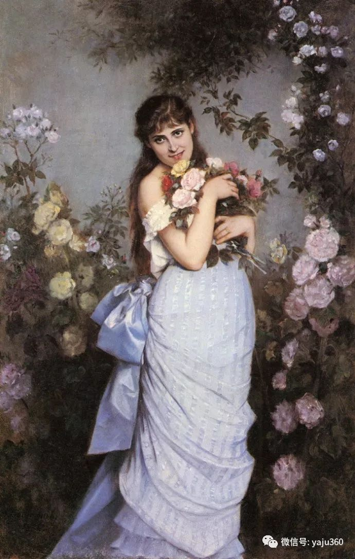 人物油画 法国Auguste Toulmouche插图13